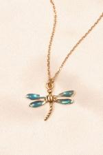 Chaine de cheville Libellule - Un bijou libellule qui illumine la cheville de mille scintillements.