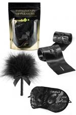 Set Instruments de Plaisir - Vert - Un pack de 3 accessoires coquins niveau Vert proposé par Bijoux Indiscrets.