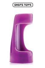Vibrating sleeve - Shots Toyz - Gaine vibrante à utiliser comme anneau de pénis ou comme extension de votre vibromasseur favori.