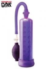 Silicone power pump - Pipedream - Une pompe à pénis en silicone pour développer et stimuler votre sexe, par Pipedream Pump Worx,.
