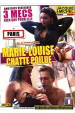 Marie Louise - chatte poilue - DVD spécial amatrices réelles avec Marie Louise, une nana à la chatte très poilue qui bosse à la tv.