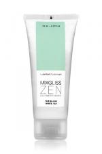 Mixgliss eau - Zen Thé blanc 70ml - Fraîcheur sensuelle! un lubrifiant intime aux notes végétales de thé blanc.