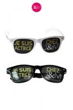 Lunettes Jacquie & Michel Actrice - Après les lunettes  Je suis acteur chez J&M , il paraissait inconcevable de ne pas vous proposer les lunettes  Actrices .