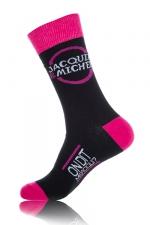 Chaussettes Jacquie & Michel - Paire de chaussettes Jacquie et Michel pour hommes, 2 couleurs différentes.