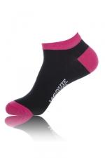 Chaussettes courtes  J&M - noir - Paire de chaussettes Jacquie et Michel pour hommes, tige basse, coloris noir.