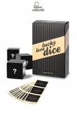 Dés Lucky love Dice - Trois dès pour jeux libertins. Le sort décidera de quoi, où et comment...