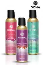 Huile de massage parfumée - Dona - Huile de massage aphrodisiaque à base de phéromones, parfumée, non grasse et haute qualité, par Dona.