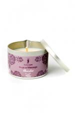 Bougie de massage Chocolat - Bougie de massage parfum Chocolat fabriquée en France pour des moments sensuels.