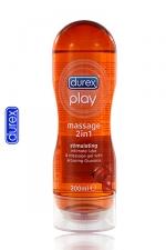 Durex Play massage Stimulating - Le gel de massage Durex avec du Guarana, idéal pour la stimulation!