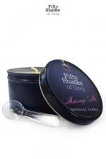 Bougie de massage - Fifty Shades of Grey - Bougie de massage  Massage Me , goûtez aux caresses sensuelles d'un massage érotique