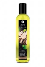 Huile Bio de massage érotique Organica - Huile de massage Erotique Bio  Chocolat Enivrant  ou  Douceur d'amande , par Shunga.