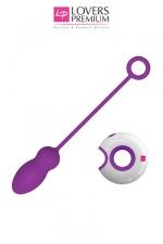 Oeuf vibrant Leya - Donnez libre court à vos fantasmes avec cet Oeuf vibrant de qualité et sa télécommande pour l'actionner à distance.