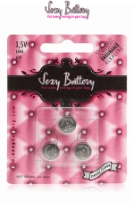 Sexy battery - Piles LR44 x3 - 3 piles  Sexy Battery  de type LR44 au lithium pour faire fonctionner vos sextoys.