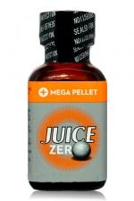 Poppers Juice  zero 24 ml - Poppers hybride pour des sensations max et confort accru avec fermeture   Mega Pellet .