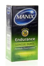 Préservatifs MANIX endurance x14 - MANIX Endurance formule TimeControl favorise le contrôle de l'éjaculation et prolonge vos rapports sexuels.