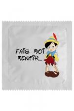 Préservatif humour - Fais Moi Mentir - Préservatif   Fais Moi Mentir , un préservatif personnalisé humoristique de qualité, fabriqué en France, marque Callvin.