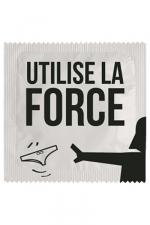 Préservatif humour - Utilise La Force - Préservatif  Utilise La Force , un préservatif personnalisé humoristique de qualité, fabriqué en France, marque Callvin.