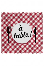 Préservatif humour - A Table - Préservatif  A Table , un préservatif personnalisé humoristique de qualité, fabriqué en France, marque Callvin.